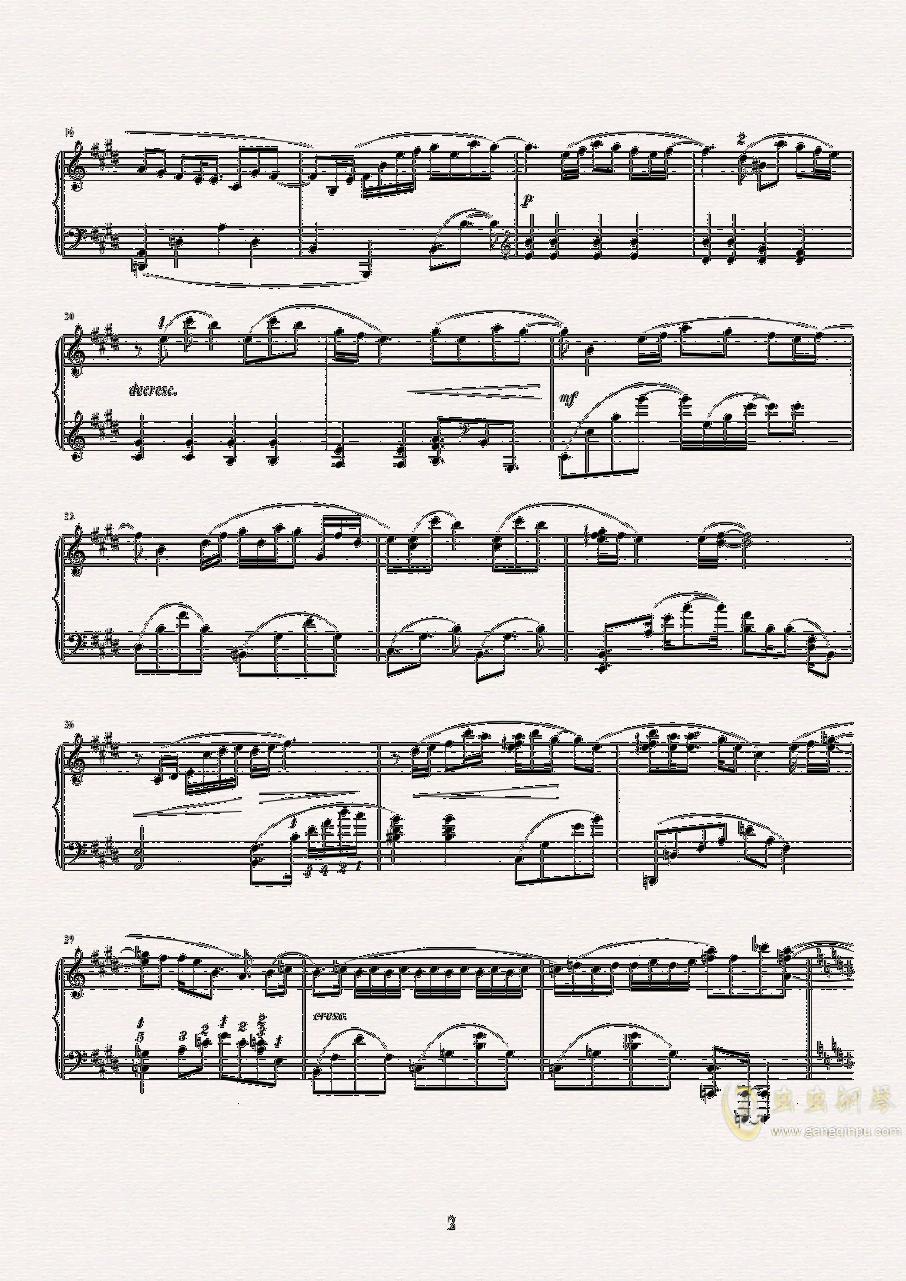 CheerS钢琴谱 第2页