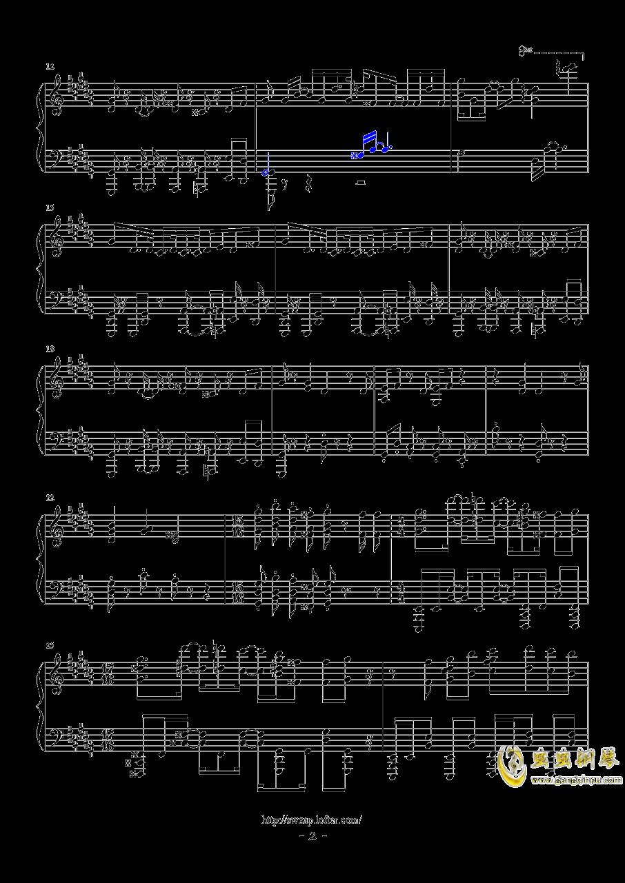VORACITY钢琴谱 第2页