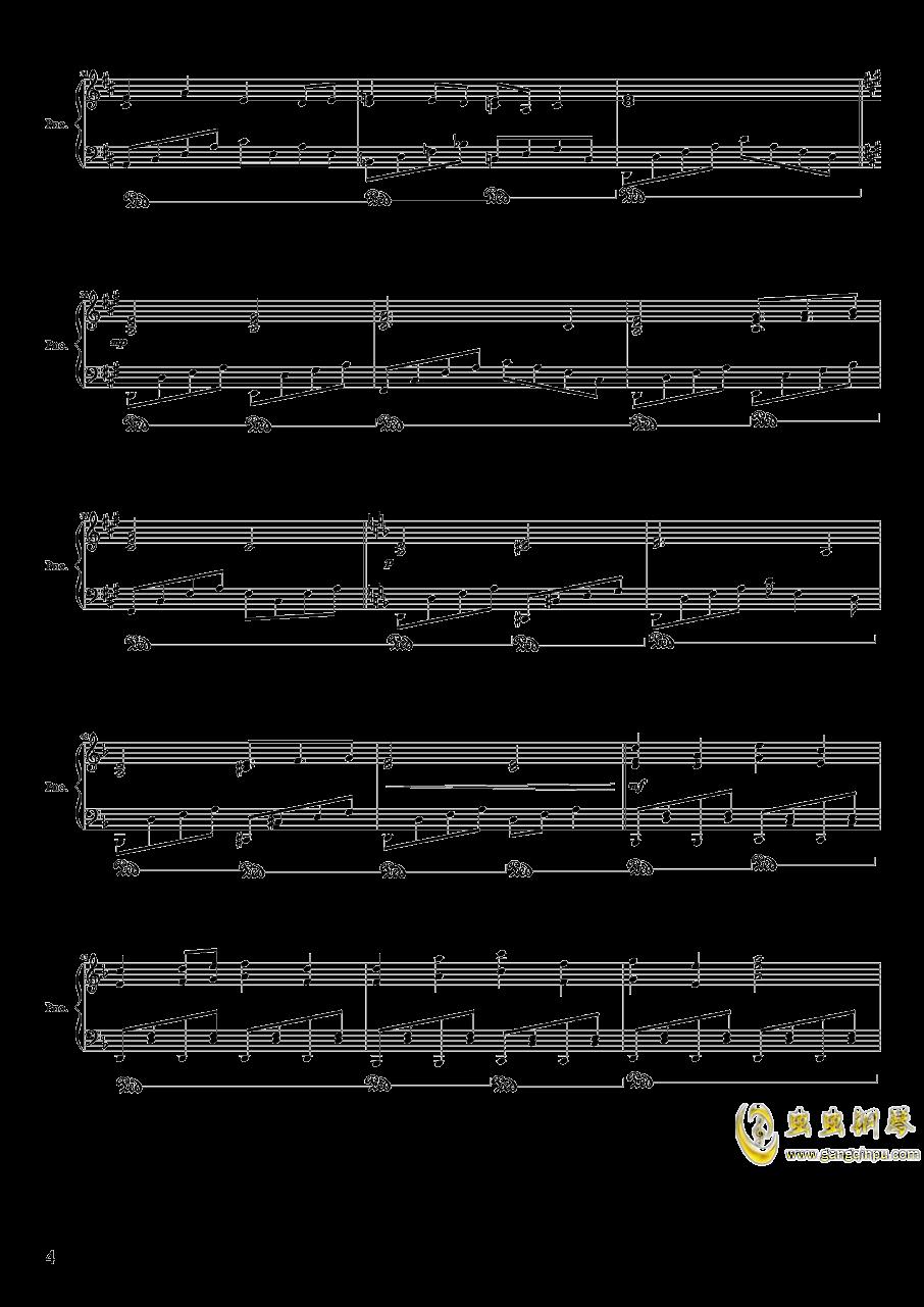 绿意盎然的疗养院钢琴谱 第3页