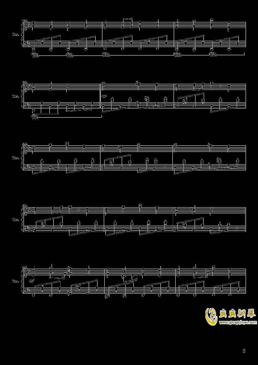 绿意盎然的疗养院钢琴谱 第4页