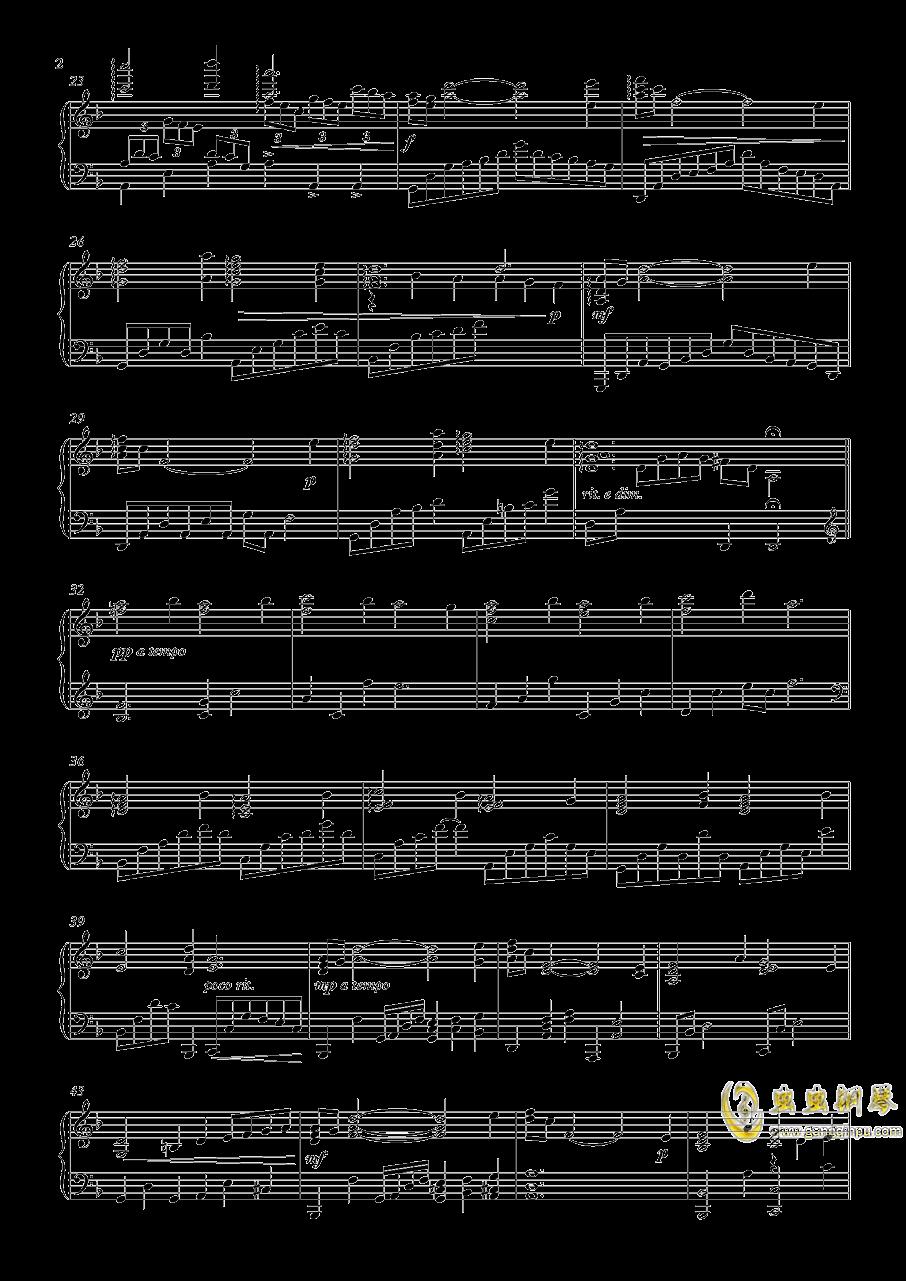 彩られし夜空钢琴谱 第2页