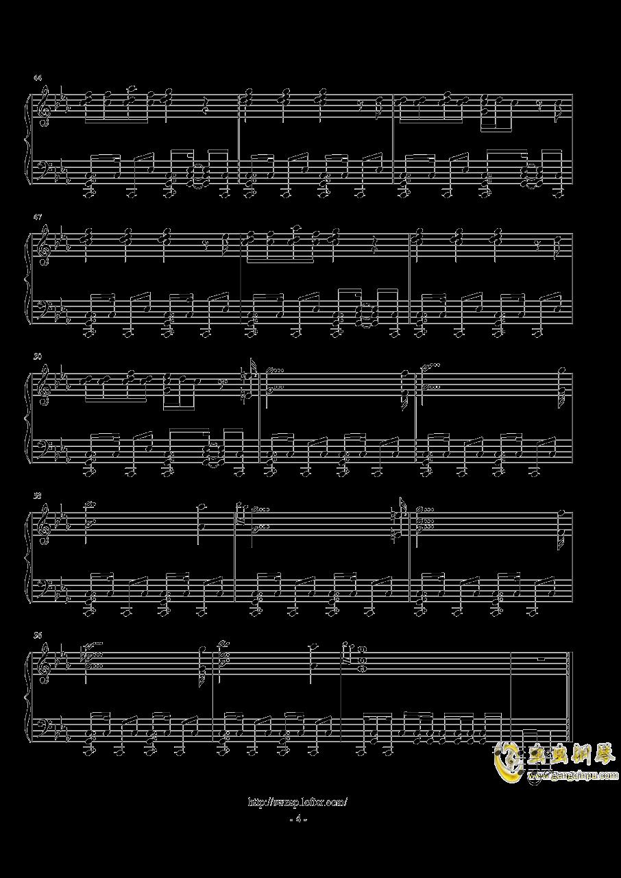 生命之杯钢琴谱 第4页