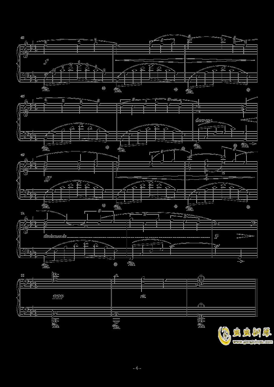 Somnus钢琴谱 第4页