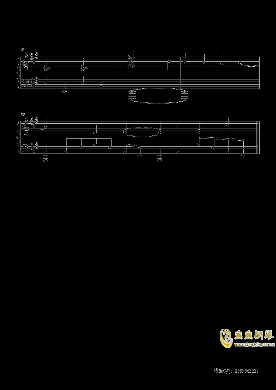 听见下雨的声音钢琴谱 第5页