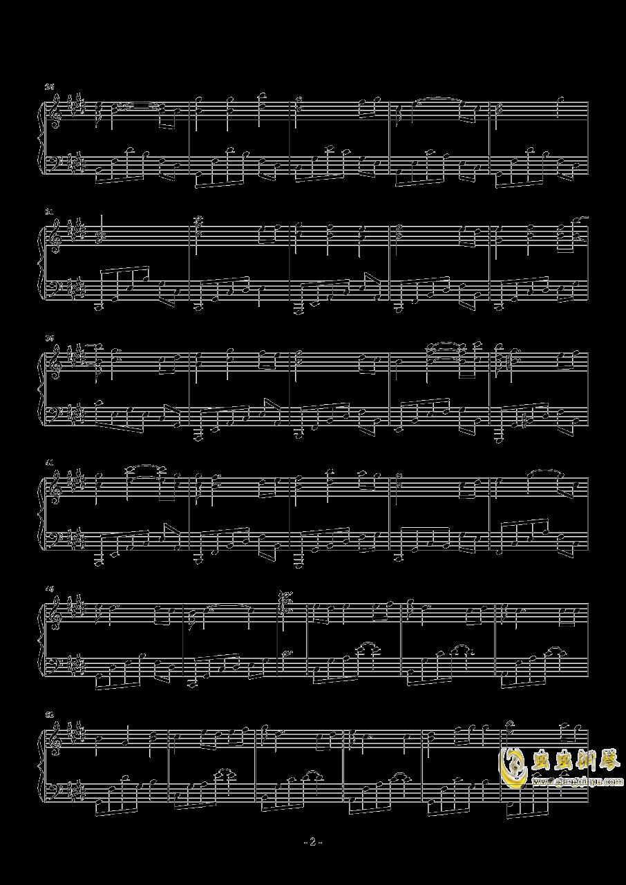 血如墨钢琴谱 第2页