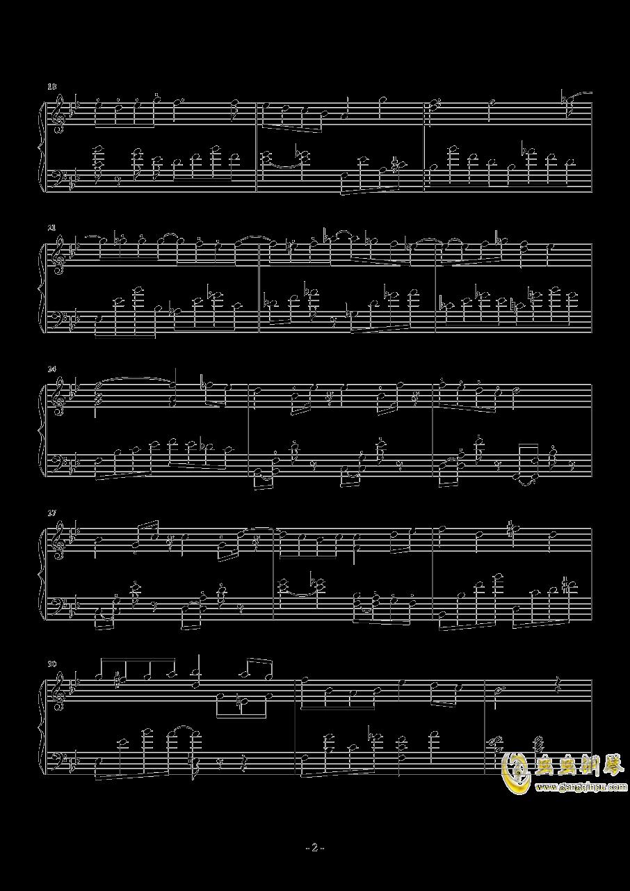 两小无猜钢琴谱 第2页