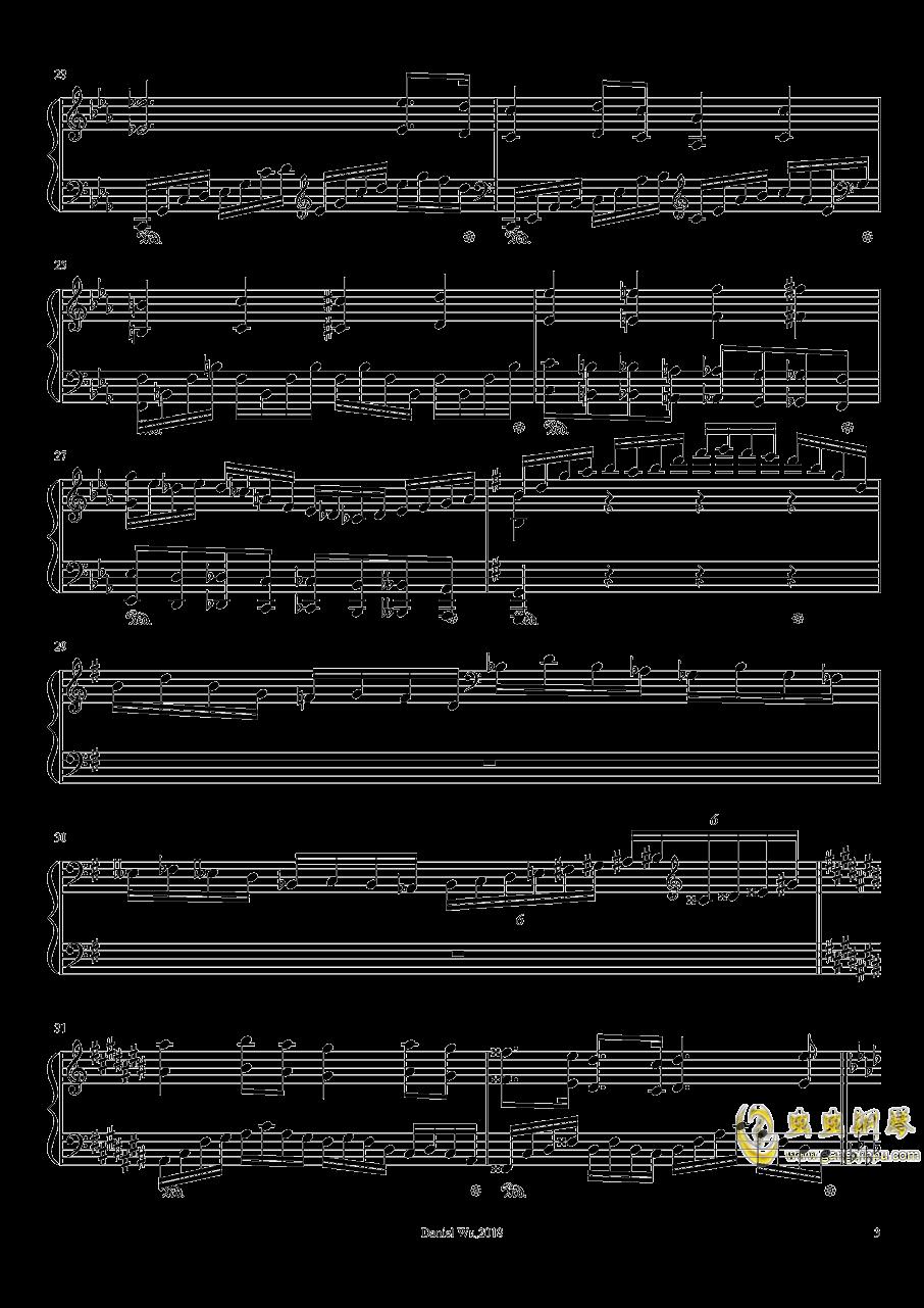 a小调即兴练习曲钢琴谱 第3页