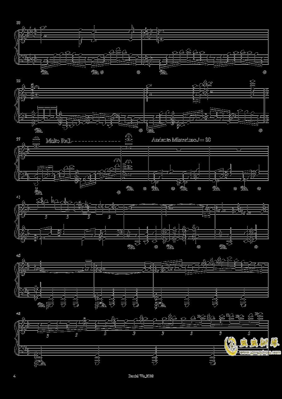 a小调即兴练习曲钢琴谱 第4页