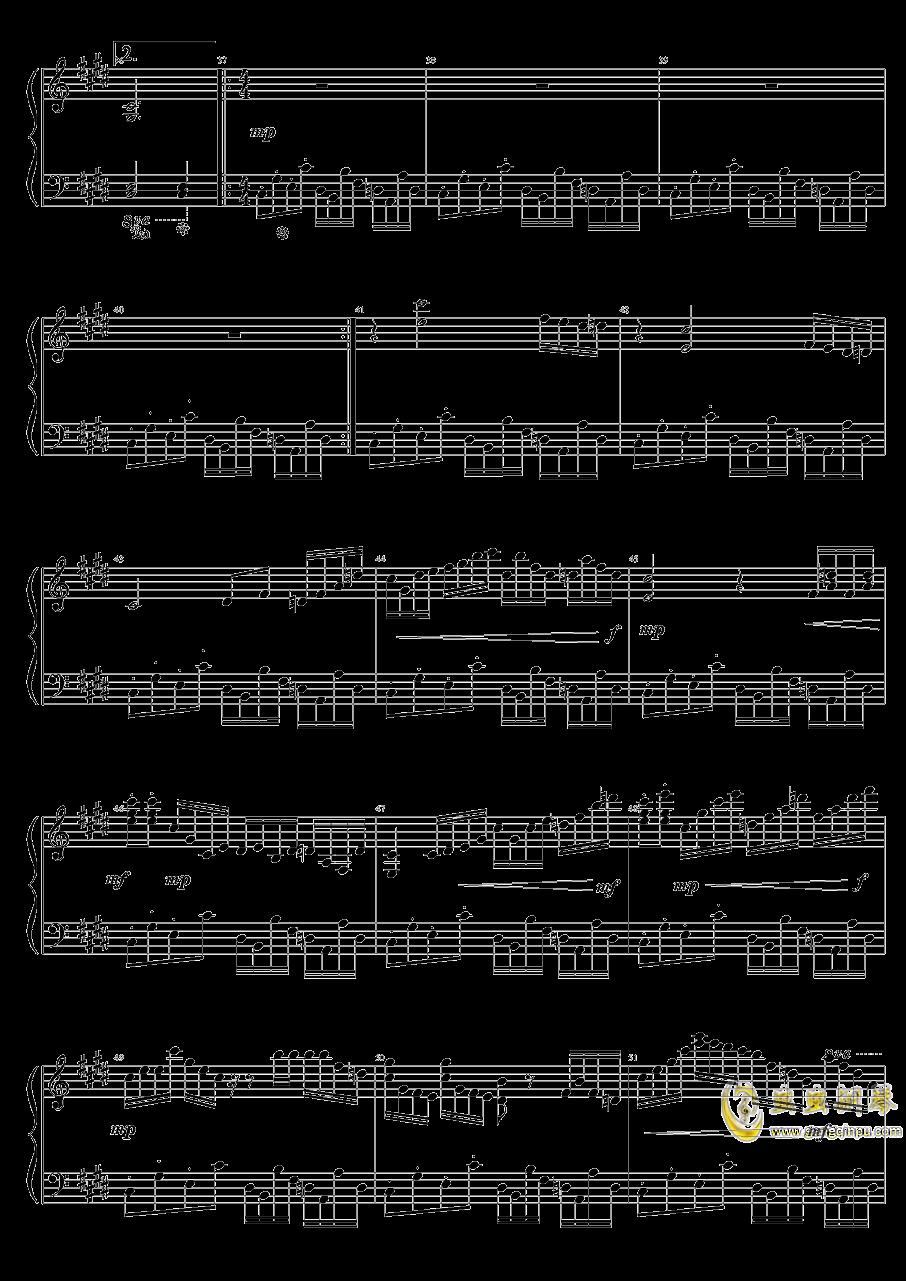 Evening Star钢琴谱 第3页