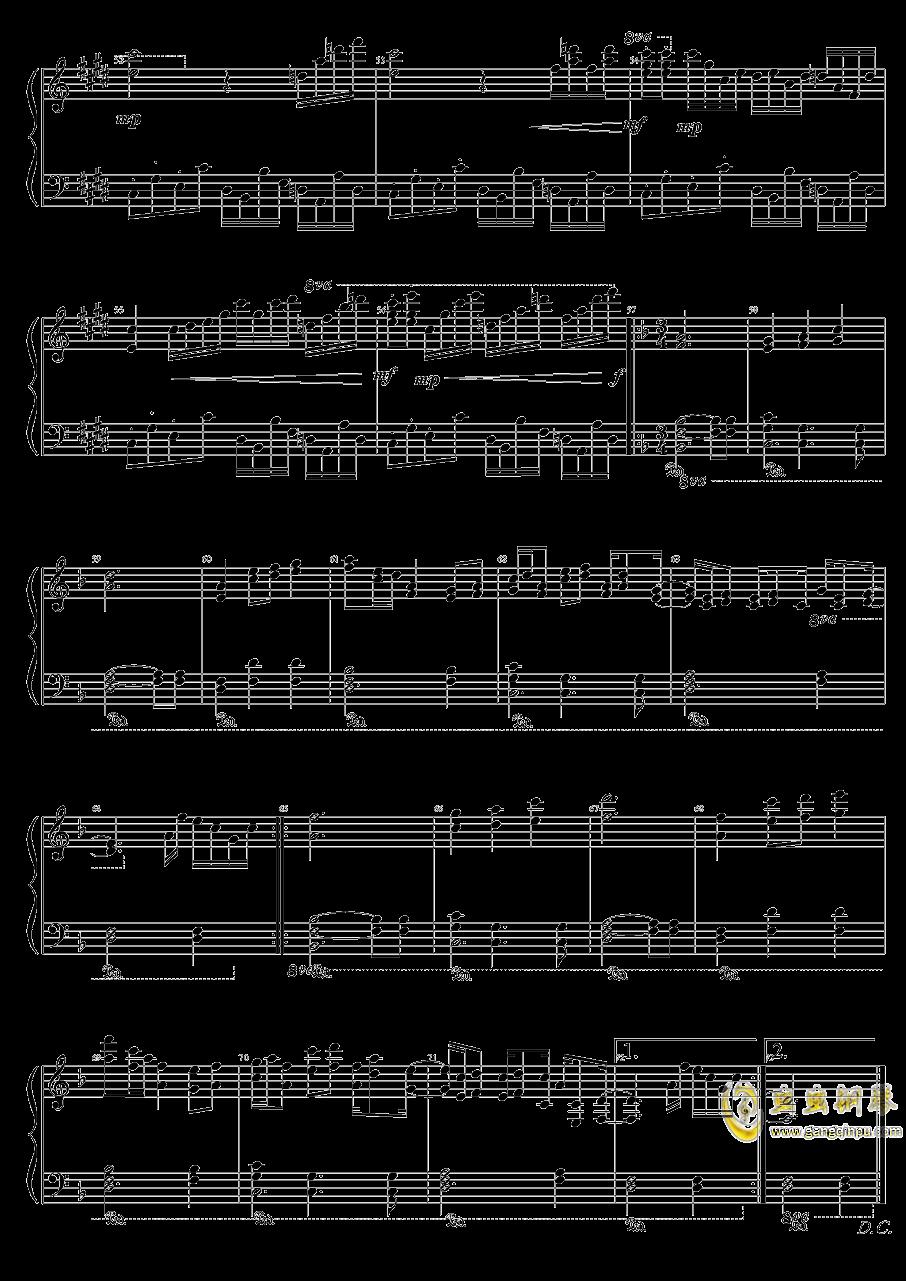 Evening Star钢琴谱 第4页