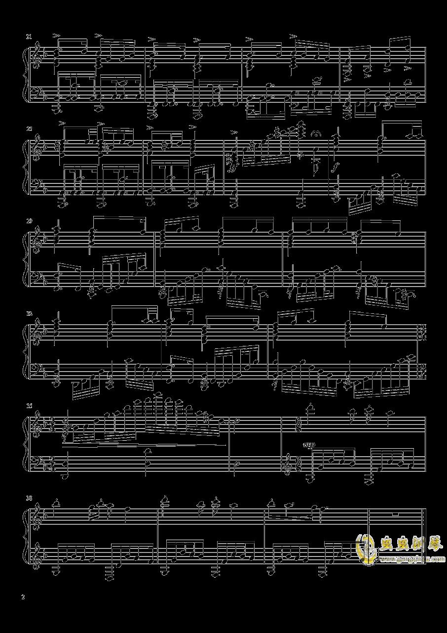 进击的巨人第三季ed 钢琴谱 第2页