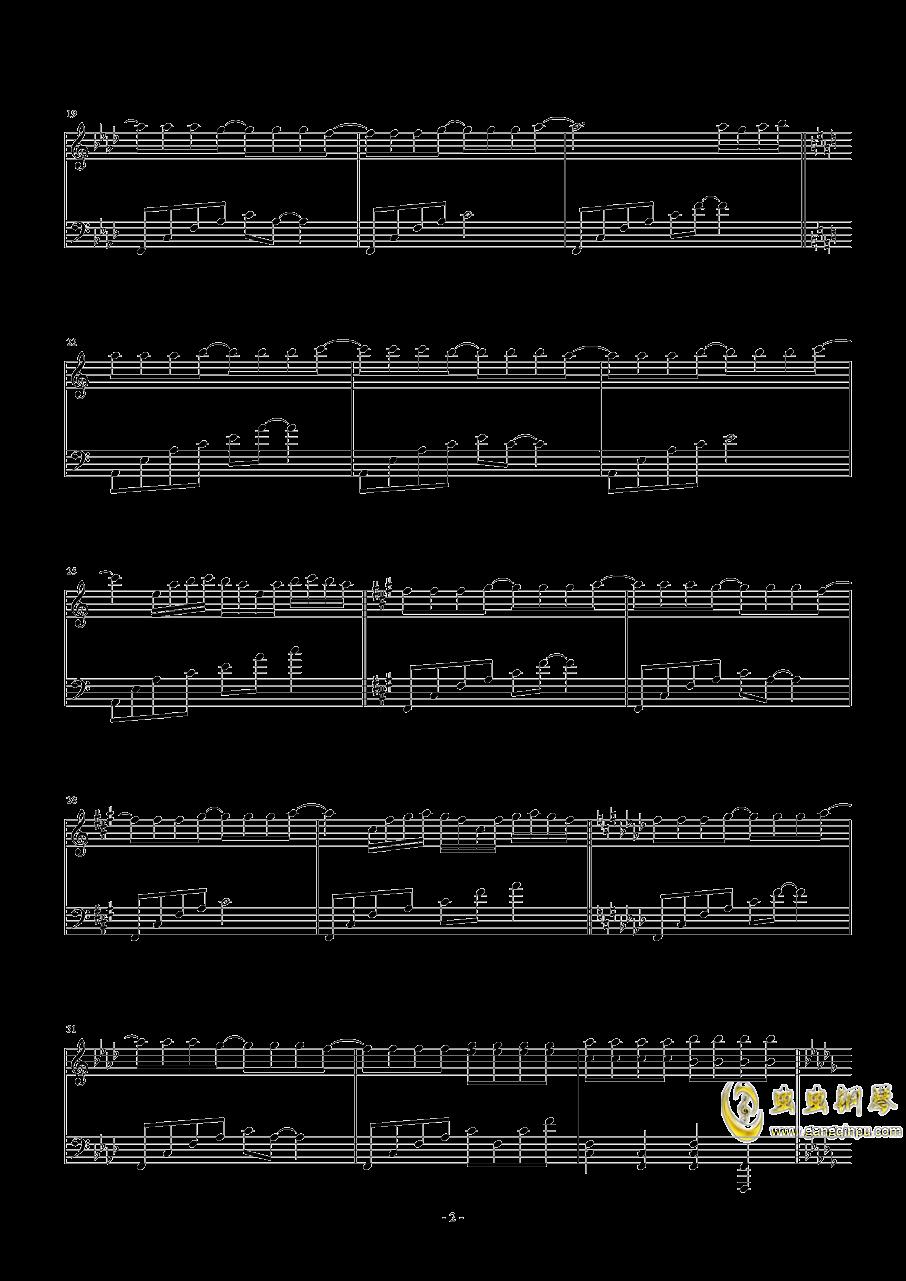 Necro-Fantasy钢琴谱 第2页
