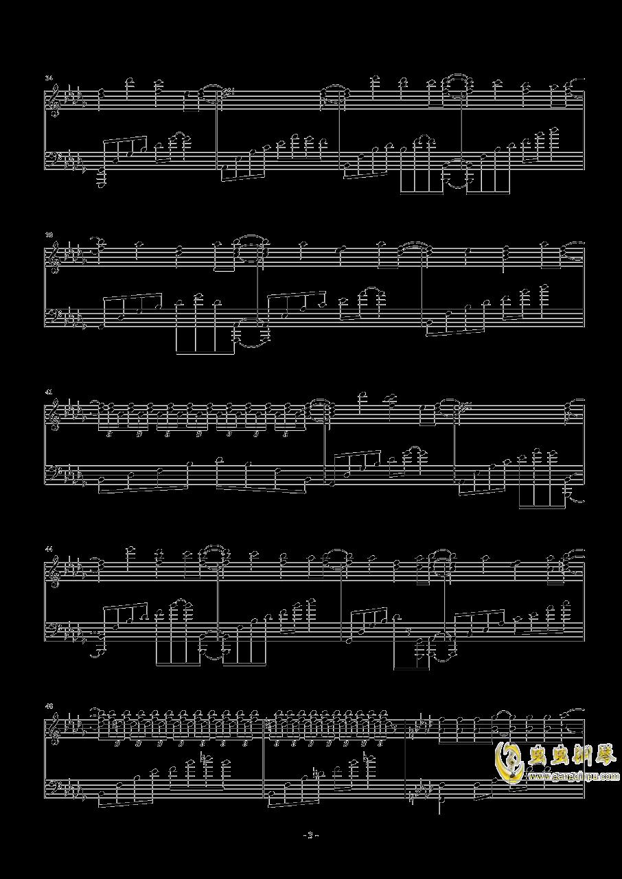 Necro-Fantasy钢琴谱 第3页