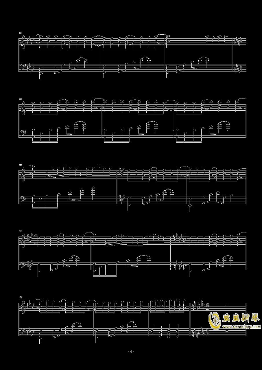 Necro-Fantasy钢琴谱 第4页