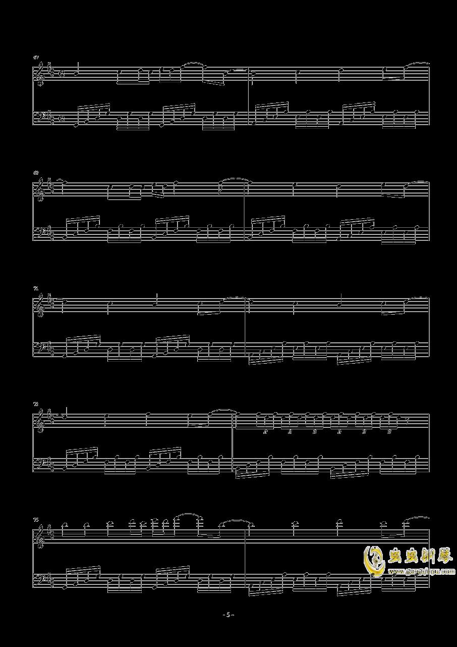 Necro-Fantasy钢琴谱 第5页