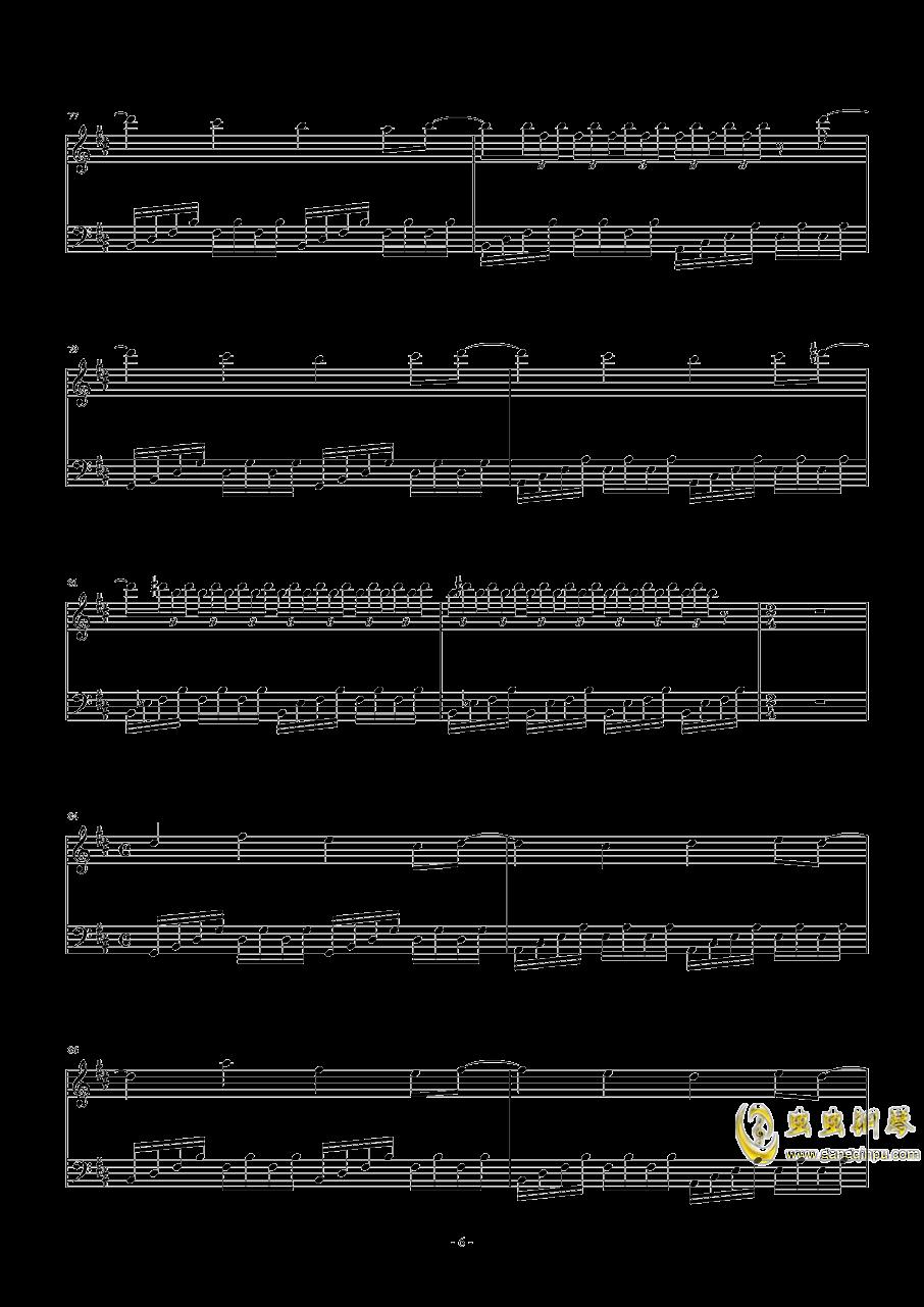 Necro-Fantasy钢琴谱 第6页