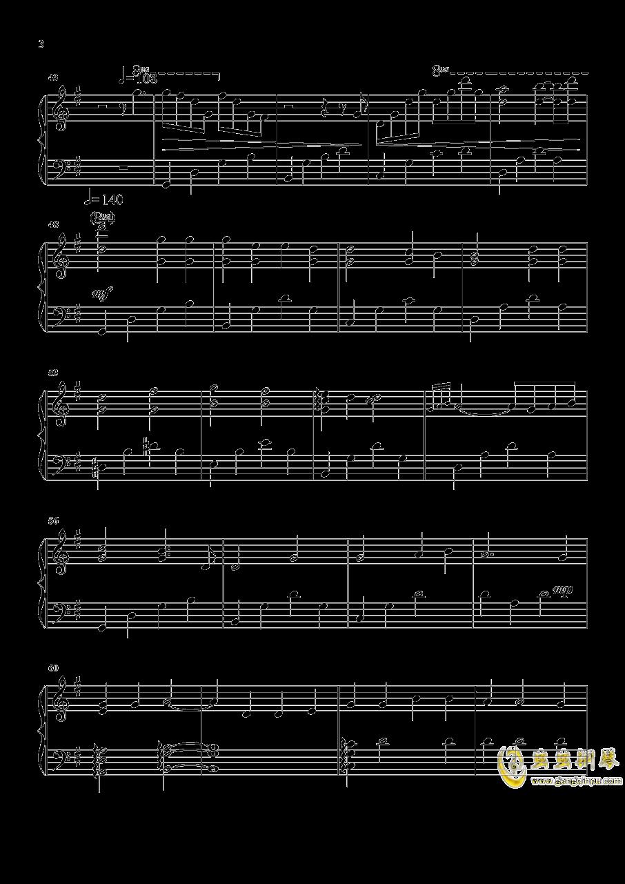 But You钢琴谱 第3页