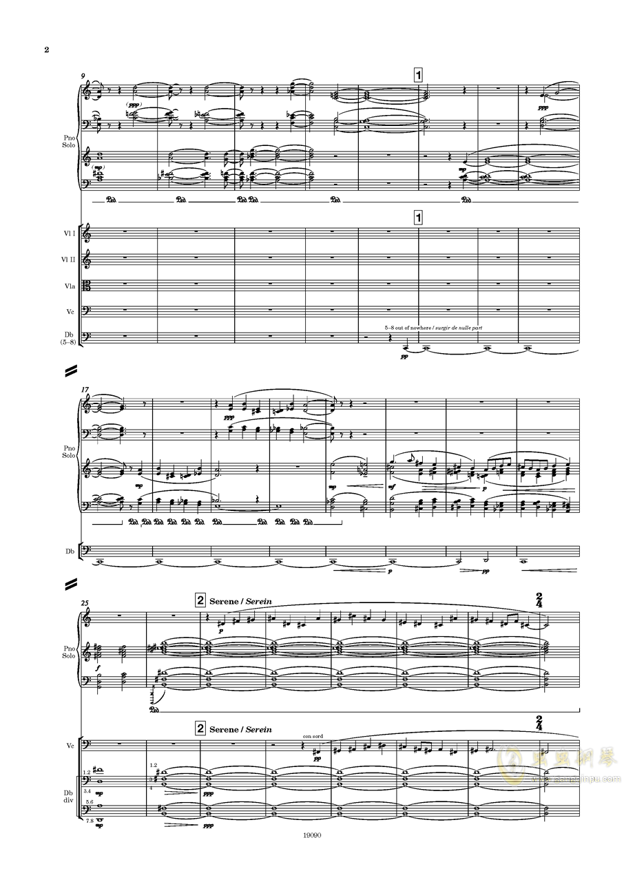 二黄钢琴谱 第4页