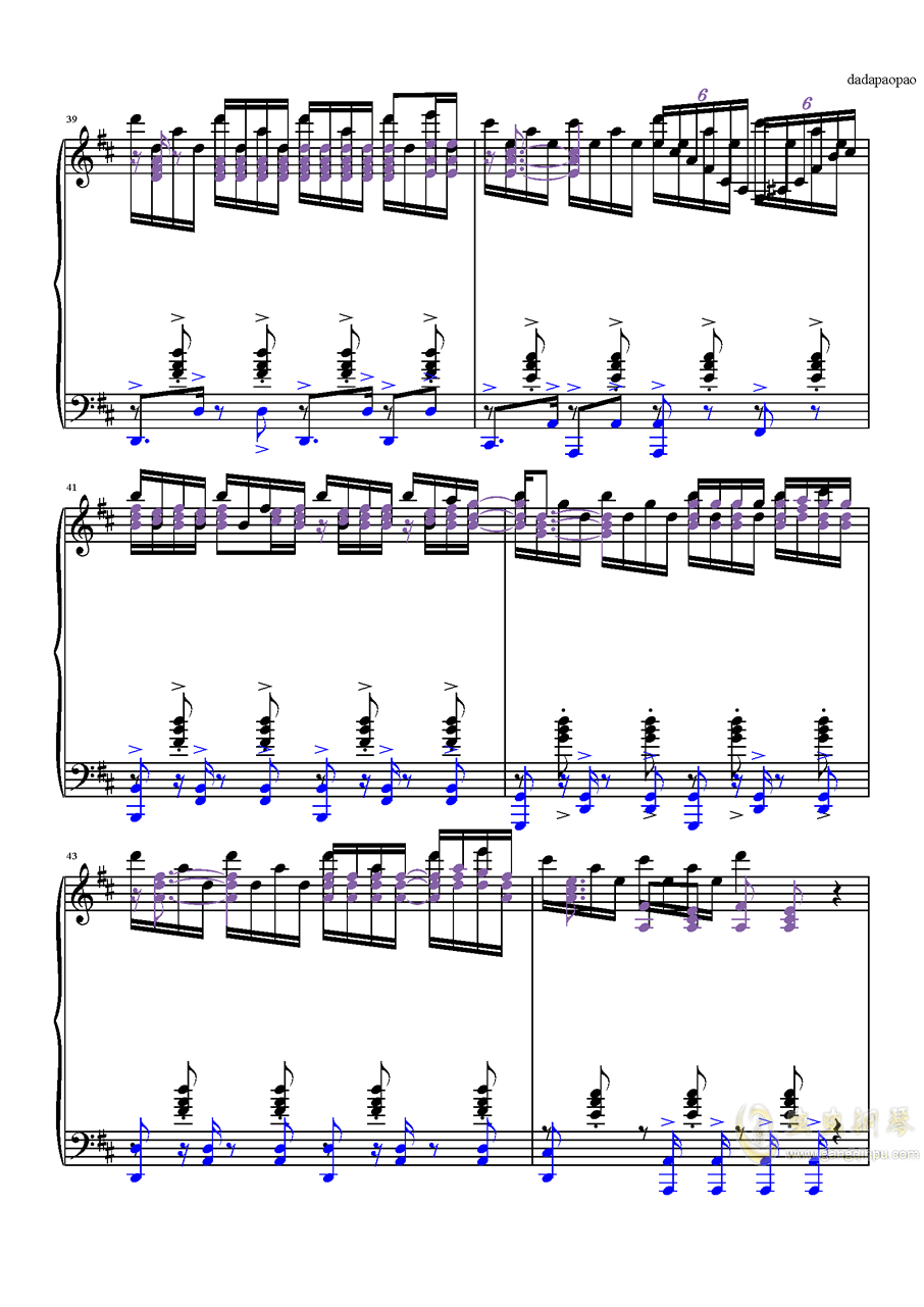 despacito钢琴谱 第5页