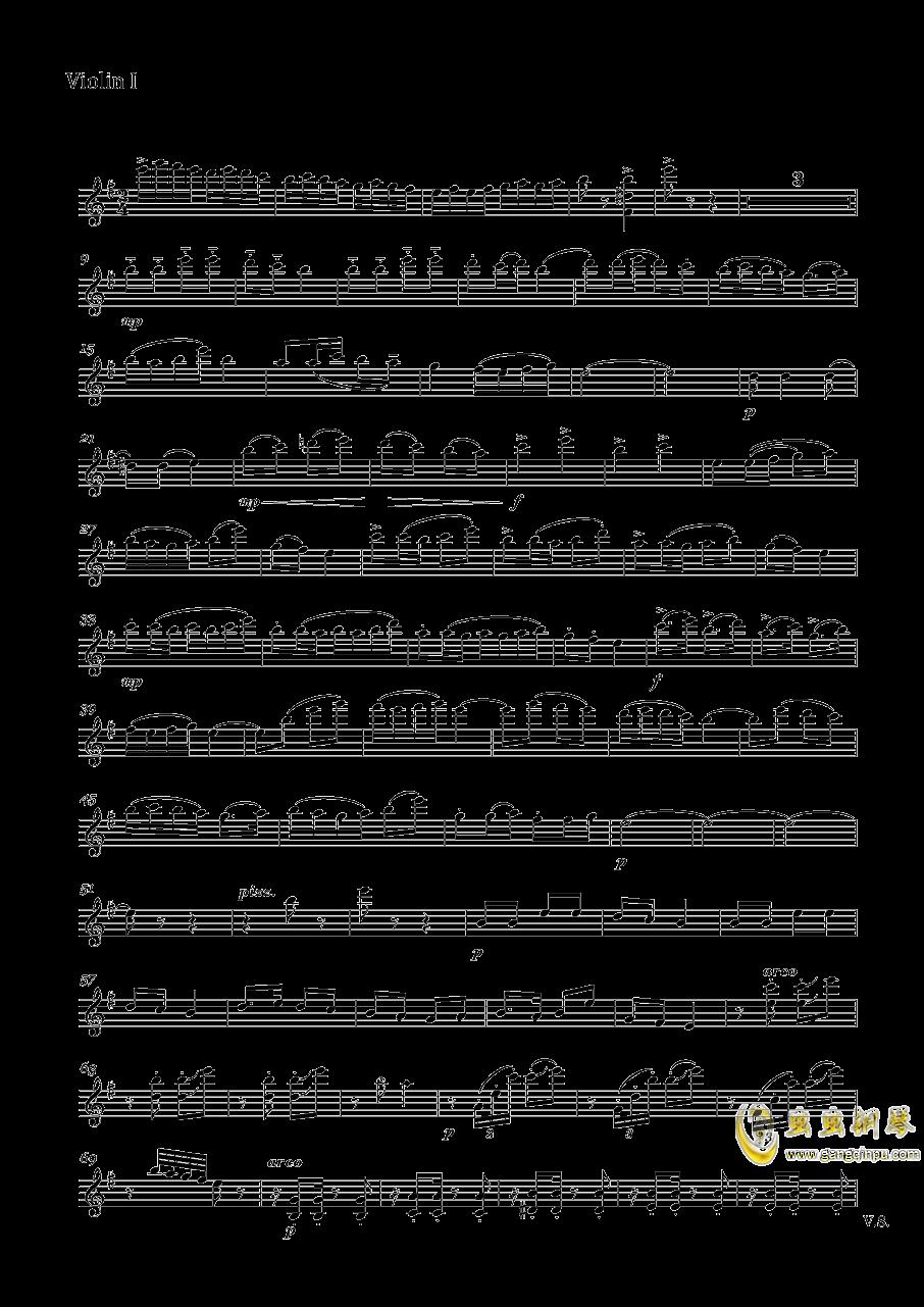 快乐的萨丽哈钢琴谱 第1页