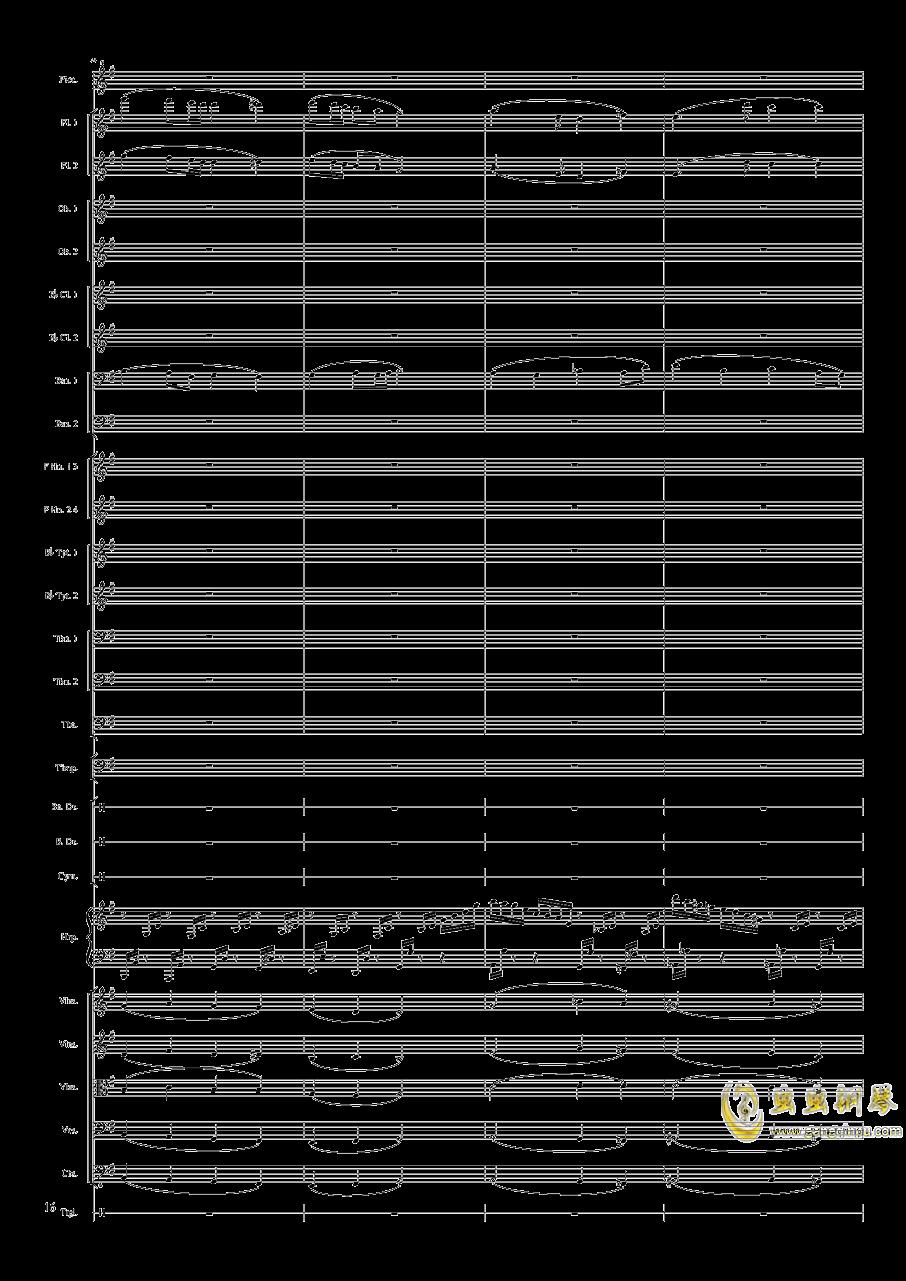 Capriccio Brilliant in E Minor, Op.94 II.Dance of summer (Scherzo)钢琴谱 第16页