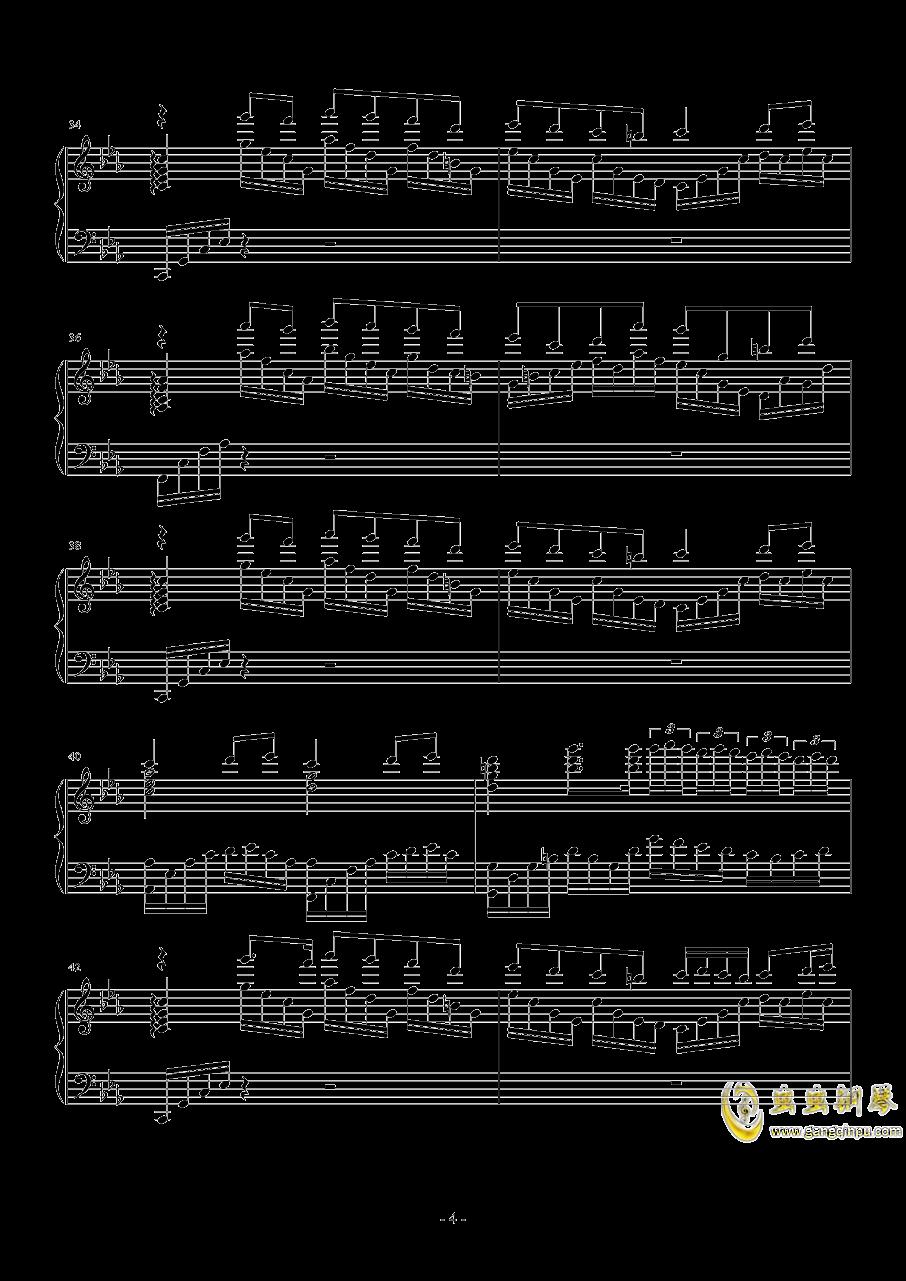 钢琴幻想曲钢琴谱 第4页