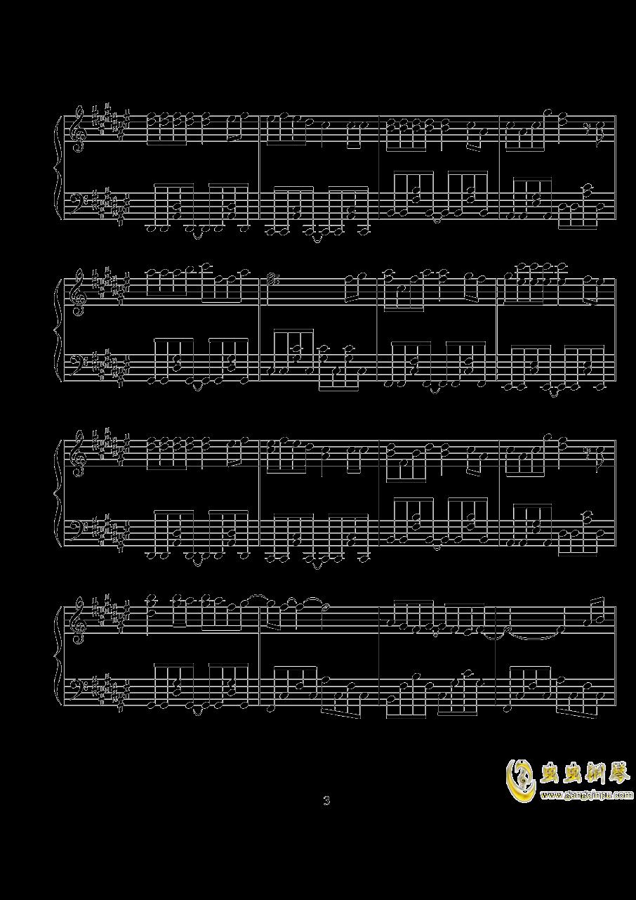 学猫叫钢琴谱 第3页图片
