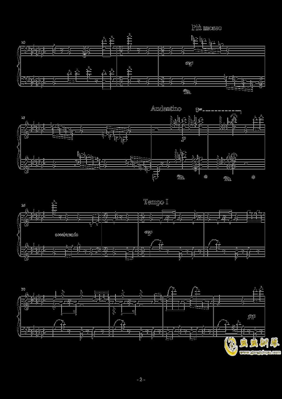 小木偶钢琴谱 第2页