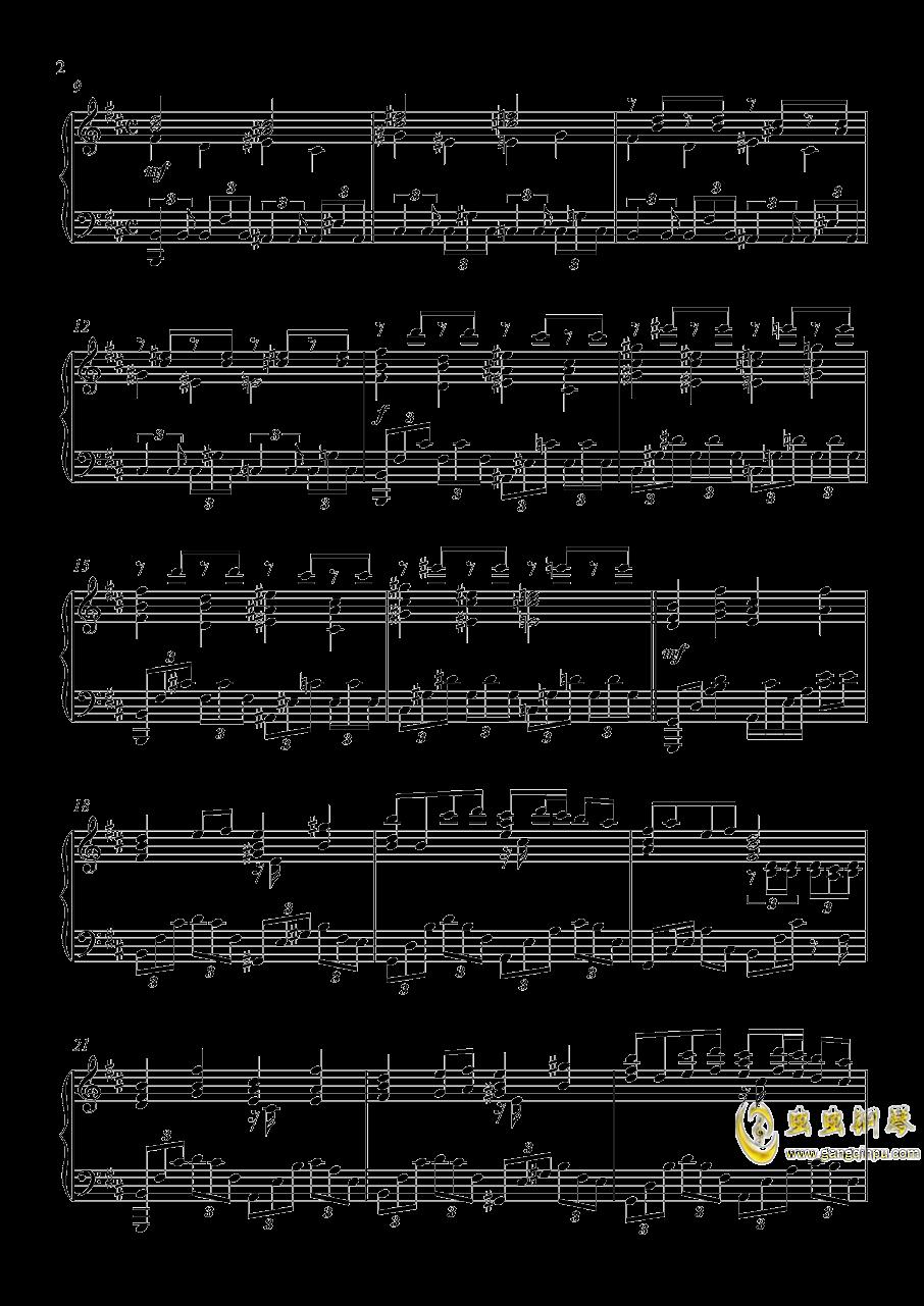 U.N.オ�`エンは彼女なのか钢琴谱 第2页