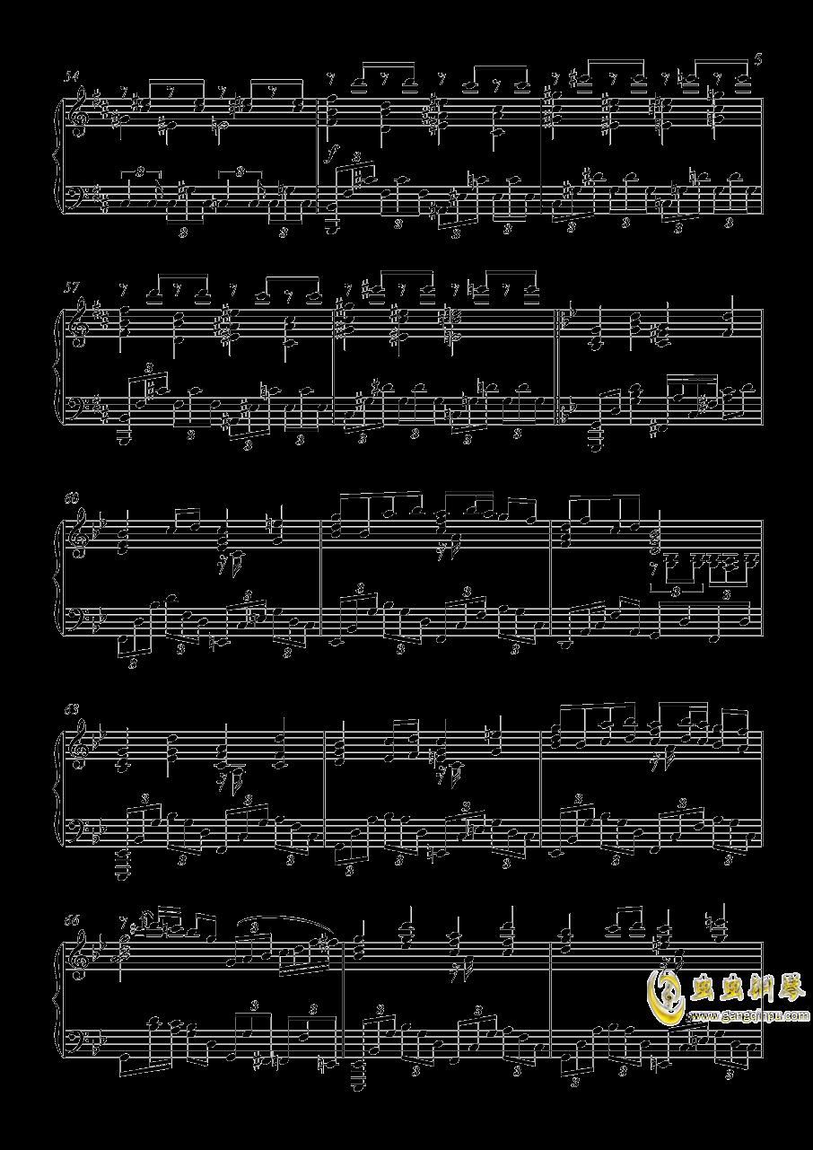 U.N.オ�`エンは彼女なのか钢琴谱 第5页