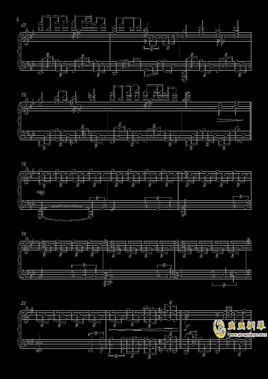 U.N.オ�`エンは彼女なのか钢琴谱 第6页