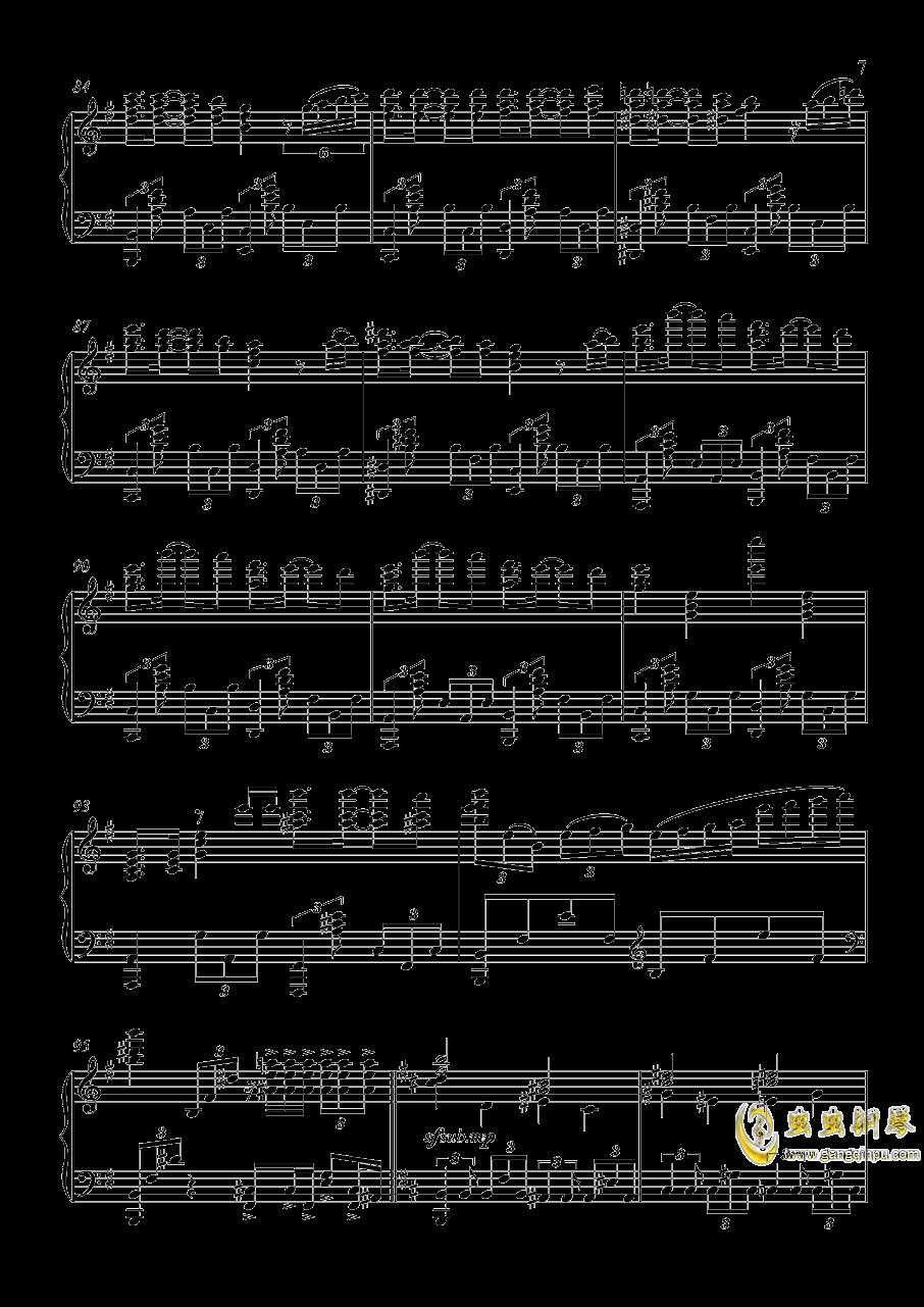 U.N.オ�`エンは彼女なのか钢琴谱 第7页