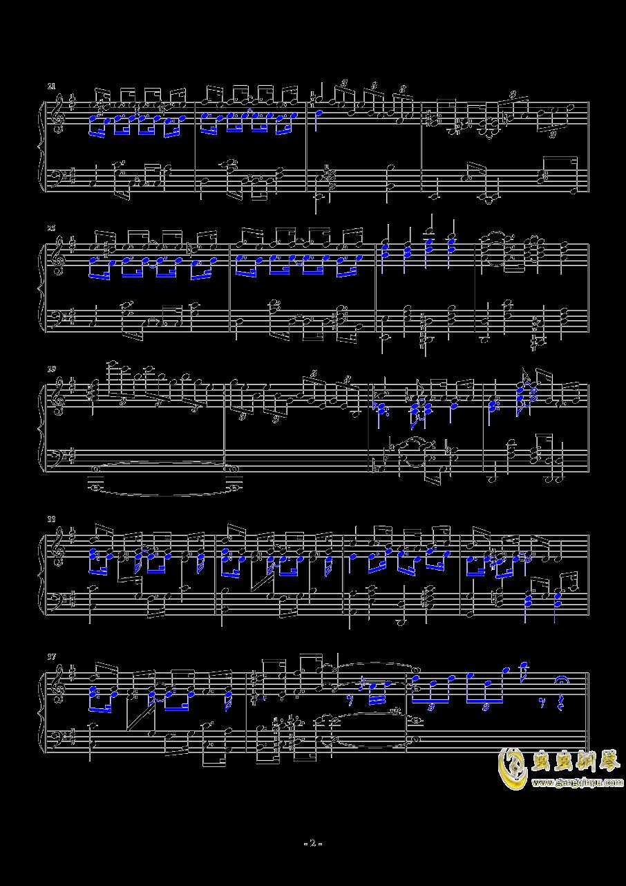 �裉��的�咪钢琴谱 第2页