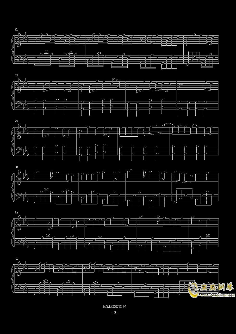 情花钢琴谱 第2页