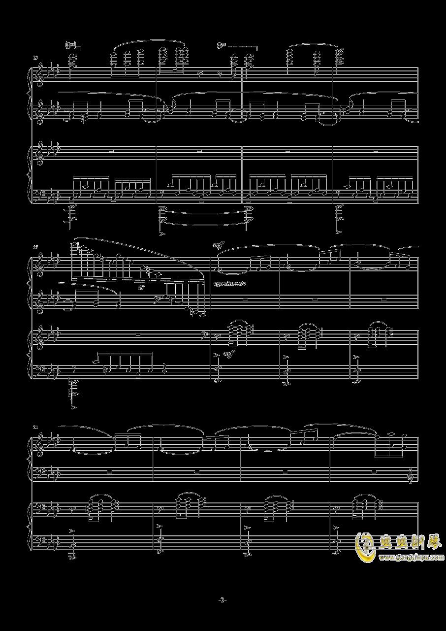 OST APOCALYPSIS NOCTIS钢琴谱 第2页