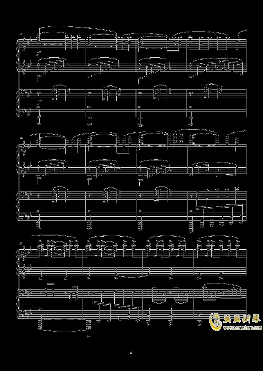 OST APOCALYPSIS NOCTIS钢琴谱 第5页