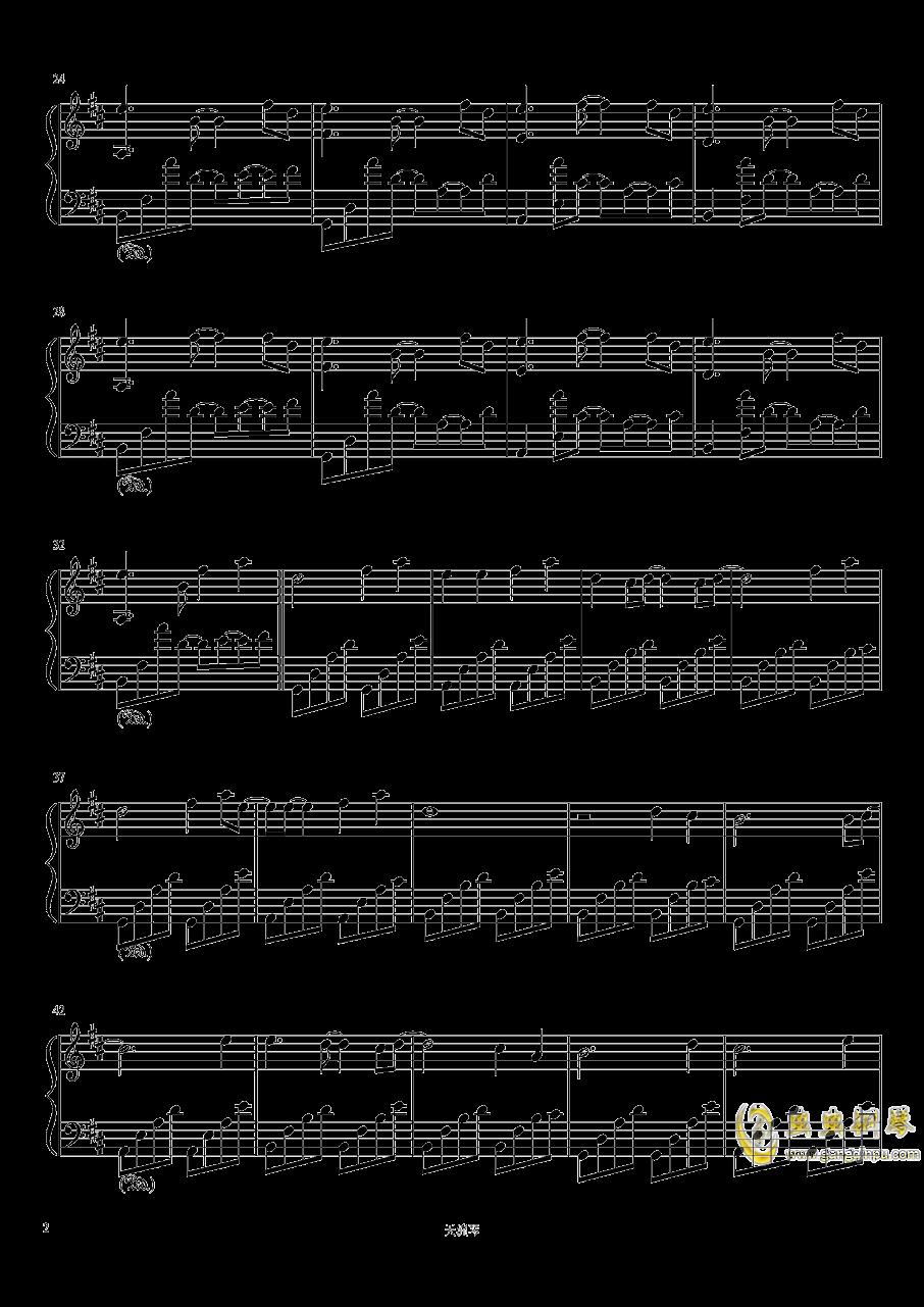 Take me hand钢琴谱 第2页