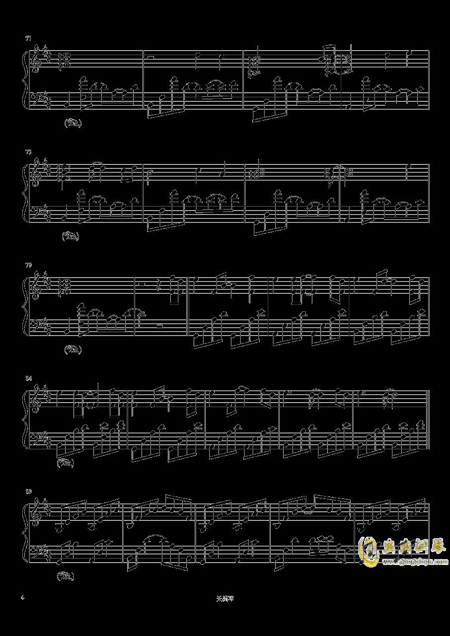 Take me hand钢琴谱 第4页