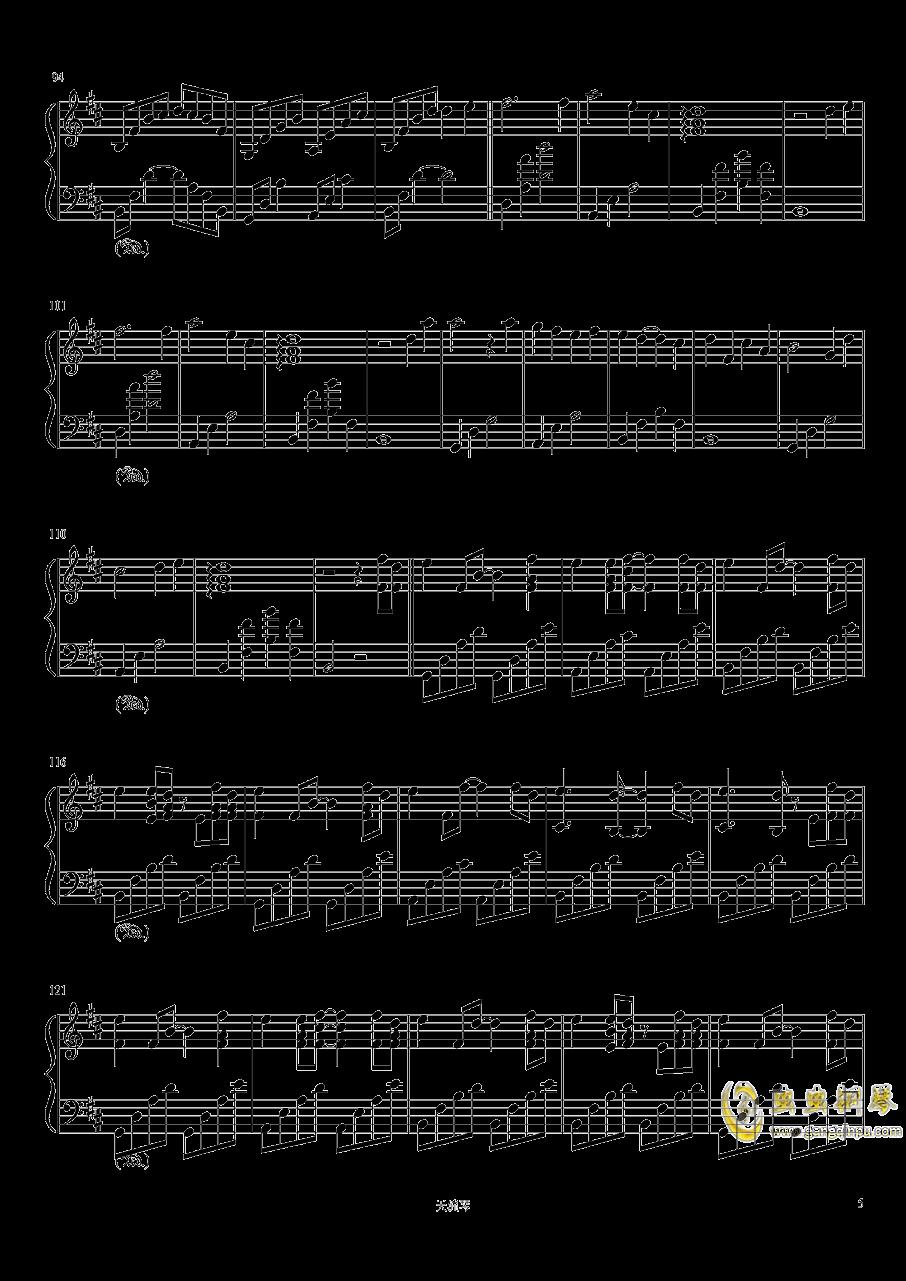 Take me hand钢琴谱 第5页