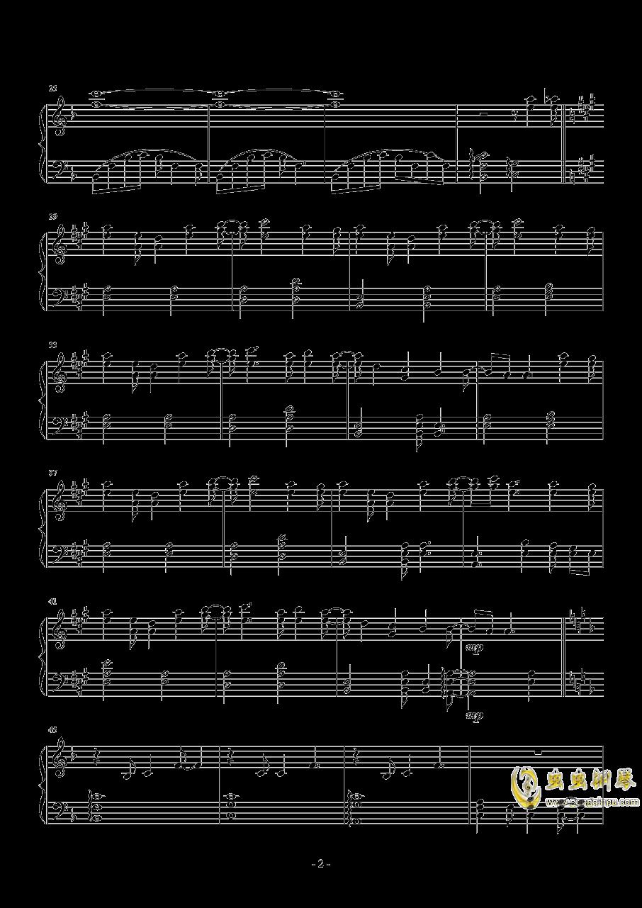 ED一番の宝物钢琴谱 第2页