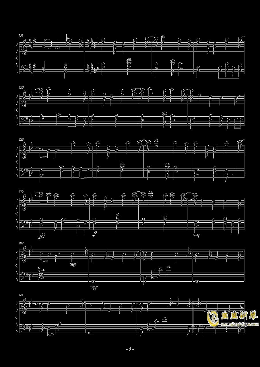 ED一番の宝物钢琴谱 第6页