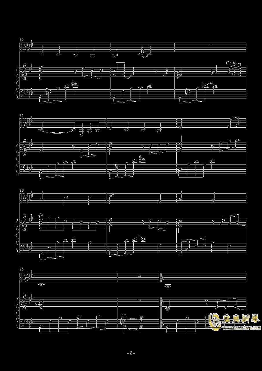 期待钢琴谱 第2页