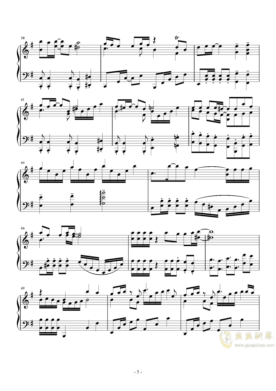 μ's~Mermaid Festa Vol.1(人鱼狂欢节vol.1)钢琴谱 第5页