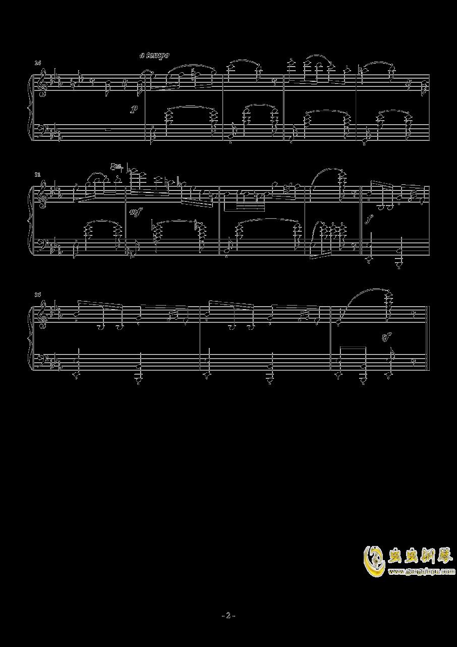 降E大调苏格兰舞曲钢琴谱 第2页