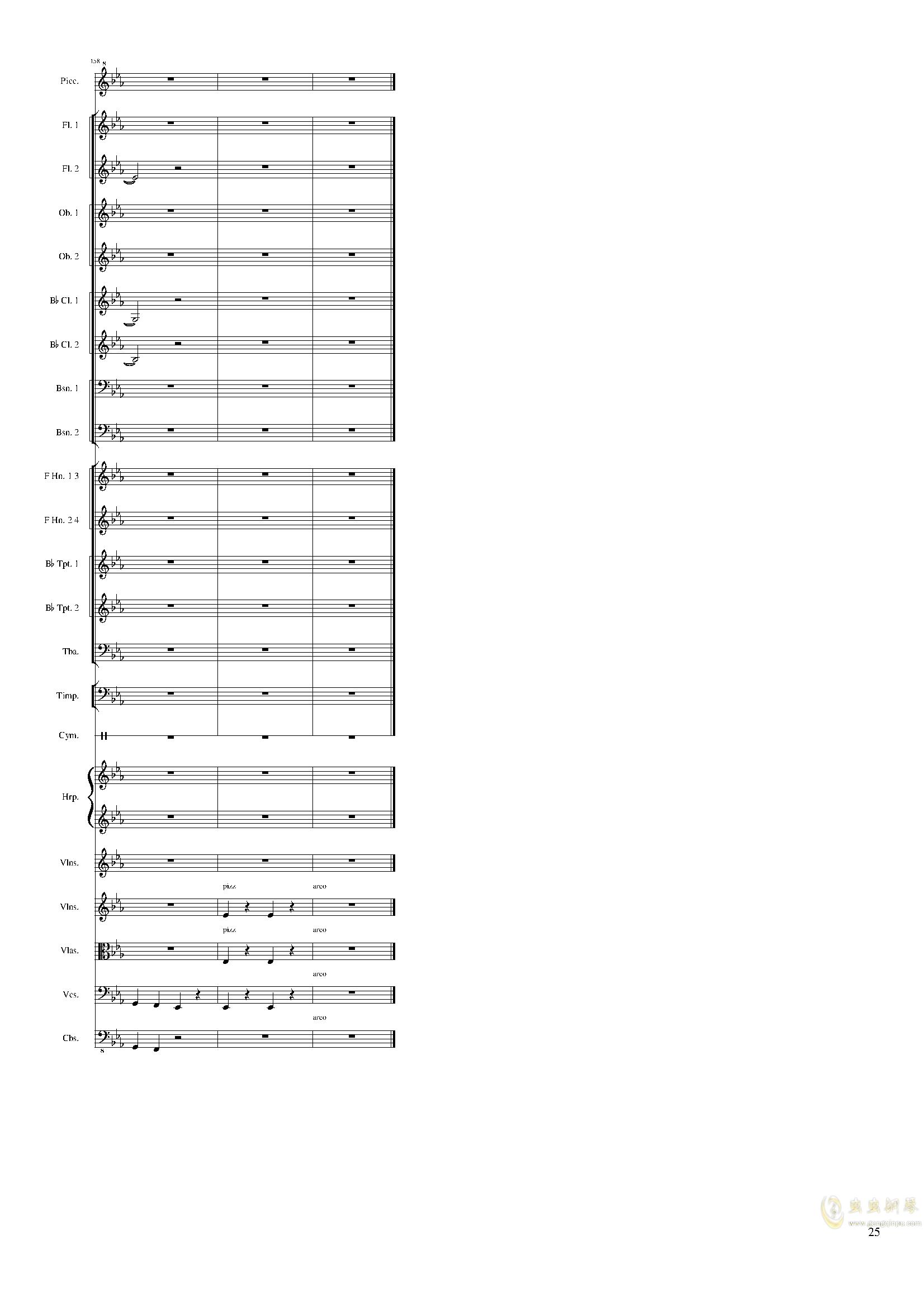 Symphonic Poem No.2, Op.65钢琴谱 第25页