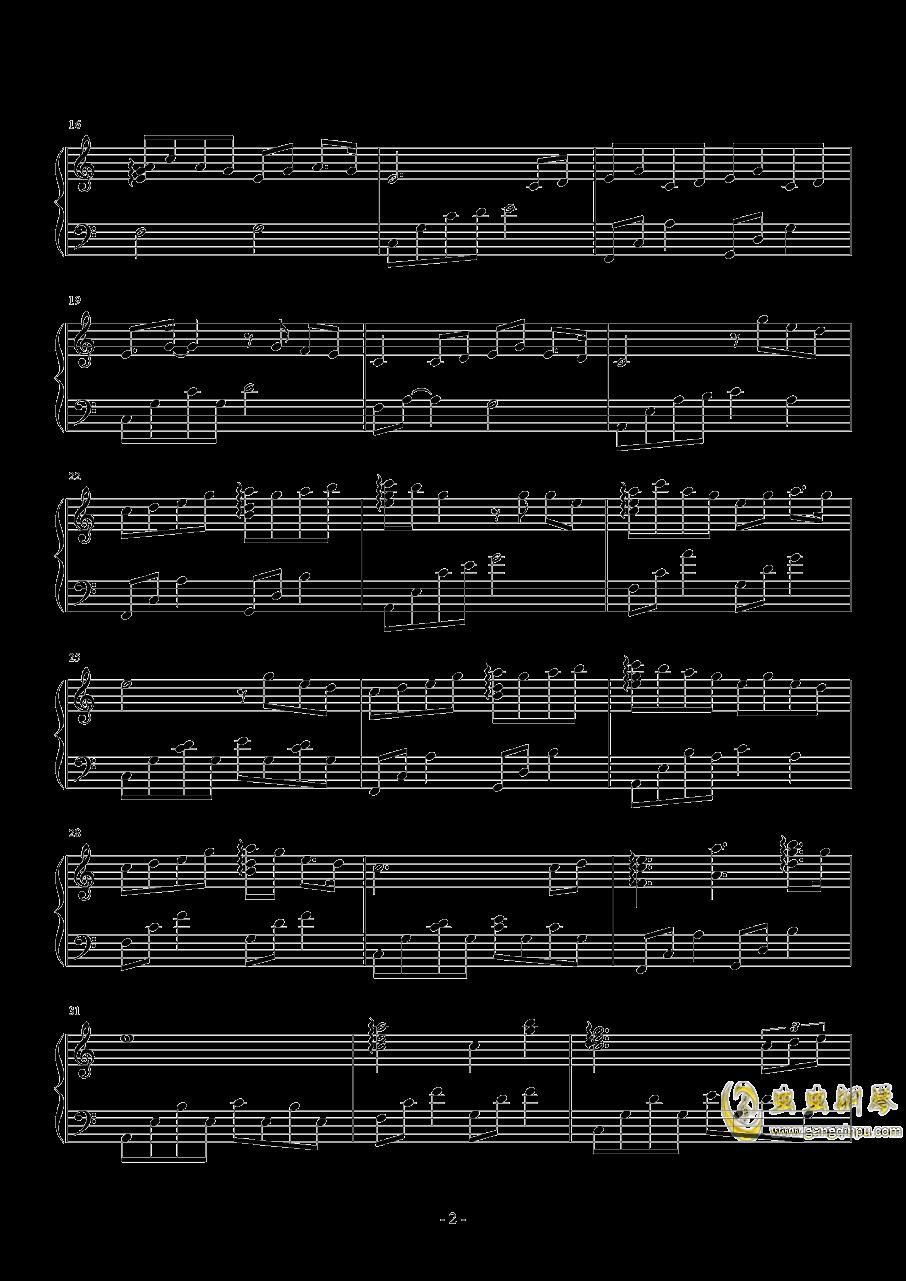 阿婆说钢琴谱 第2页