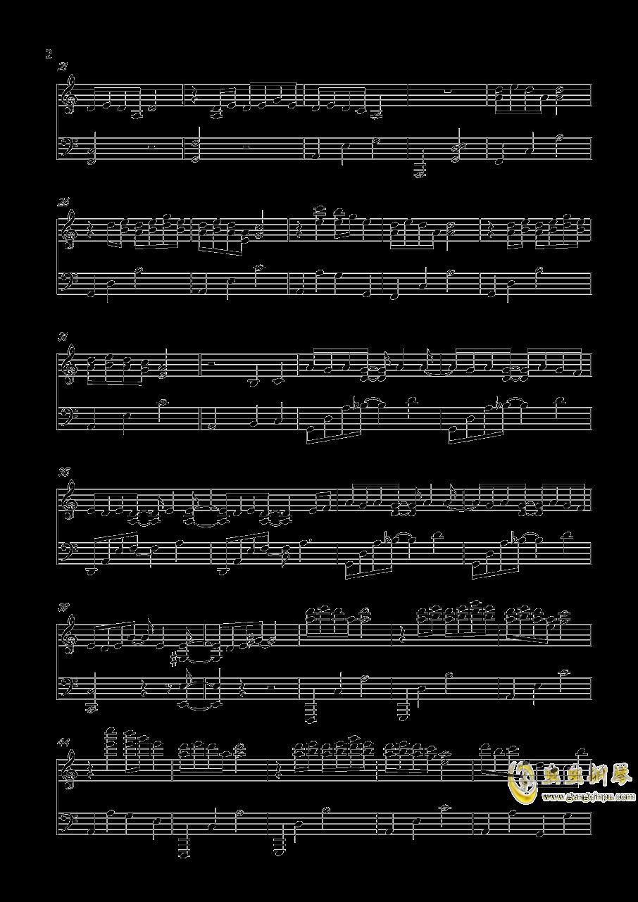 圣诞快乐劳伦斯先生钢琴谱 第2页
