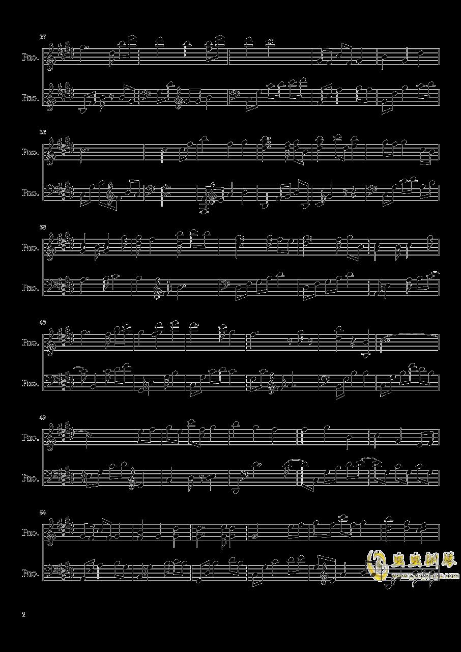 星空的花束钢琴谱 第2页
