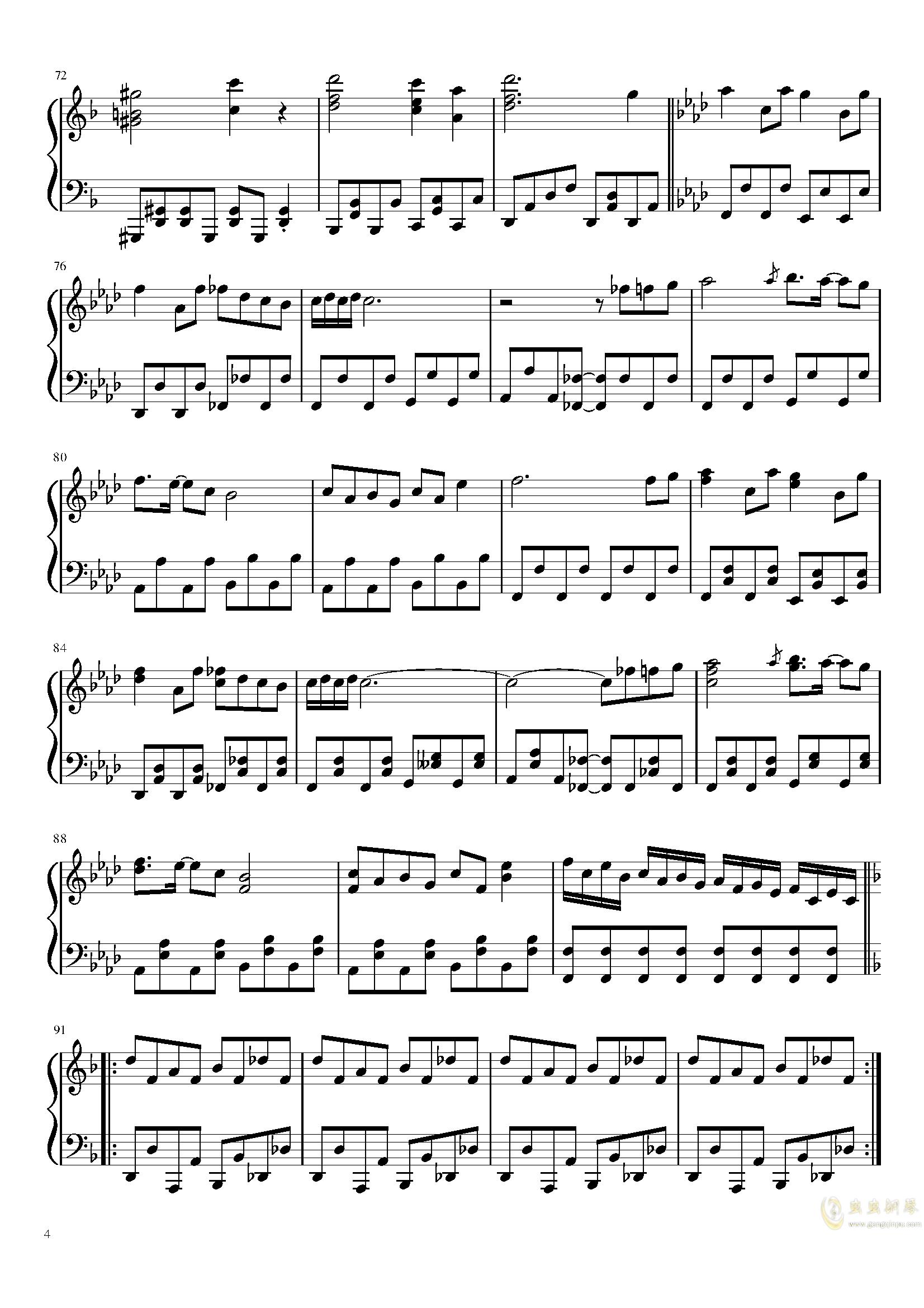 行星中文简谱-emonic Planet, Pandemonic Planet钢琴谱, Pandemonic Planet钢