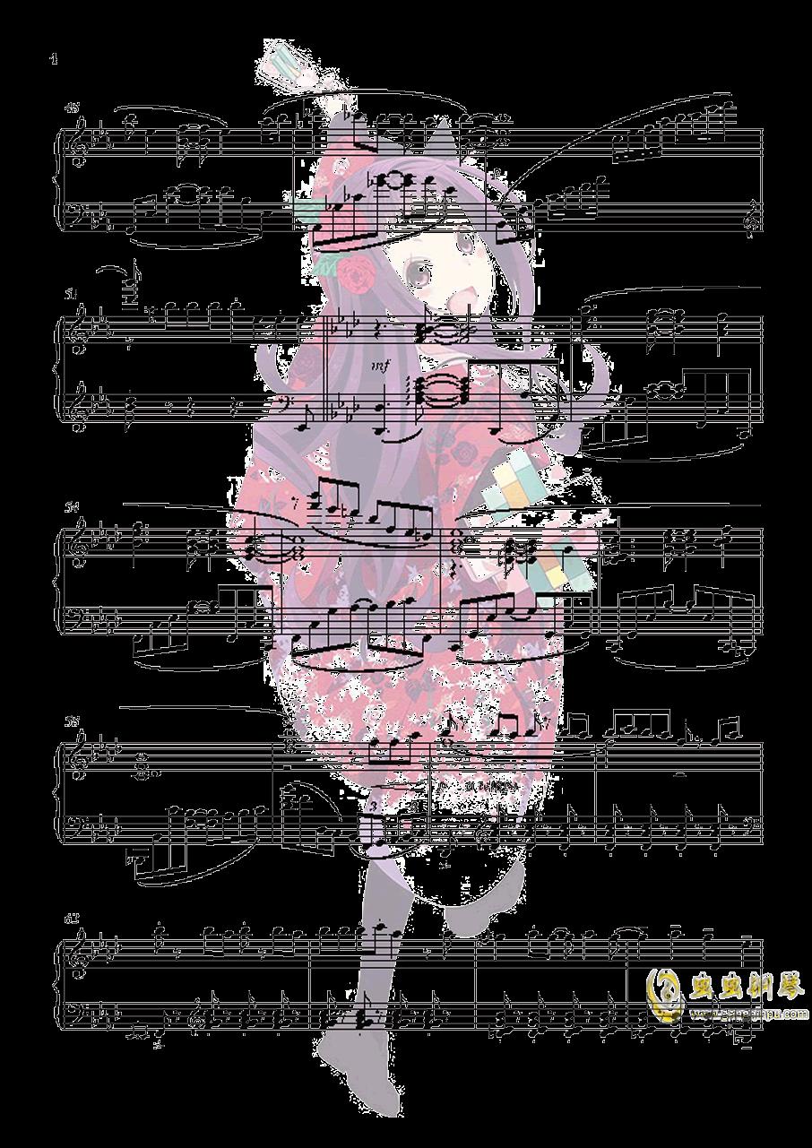 花ハ踊どれやいろはにほ钢琴谱 第4页
